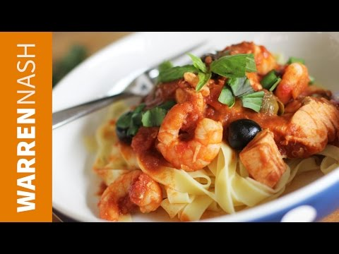 Seafood Tagliatelle Recipe – Feed your Mind – Recipes by Warren Nash