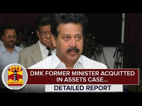 Detailed-Report--DMK-Former-Minister-Ponmudi-acquitted-in-Assets-Case--Thanthi-TV