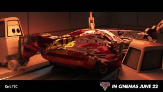 """Disney•Pixar's CARS 3In cinemas nowRating: GVisit: http://disney.co.nzLike us on Facebook: https://www.facebook.com/DisneyPixarAUNZ#Cars3Blindsided by a new generation of blazing-fast racers, the legendary Lightning McQueen (voice of Owen Wilson) is suddenly pushed out of the sport he loves. To get back in the game, he will need the help of an eager young race technician, Cruz Ramirez, with her own plan to win, plus inspiration from the late Fabulous Hudson Hornet and a few unexpected turns. Proving that #95 isn't through yet will test the heart of a champion on Piston Cup Racing's biggest stage!Directed by Brian Fee (storyboard artist """"Cars,"""" """"Cars 2"""") and produced by Kevin Reher (""""A Bug's Life,"""" """"La Luna"""" short), """"Cars 3"""" cruises into cinemas on June 22, 2017."""