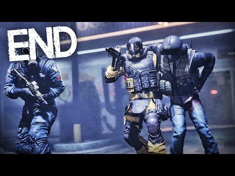 Rainbow Six Siege OUTBREAK ENDING (Mission #3) RESCUING JAGER