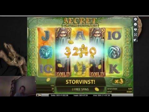 Biggest win ever - insane bonus in Secret of the Stones