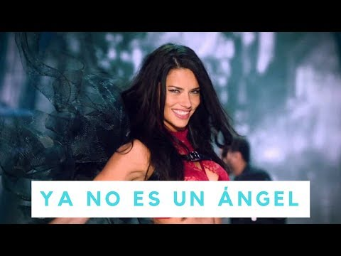 Adriana Lima de Victoria's Secret dice adiós a las fotos sexy (VIDEO) (VIDEO)