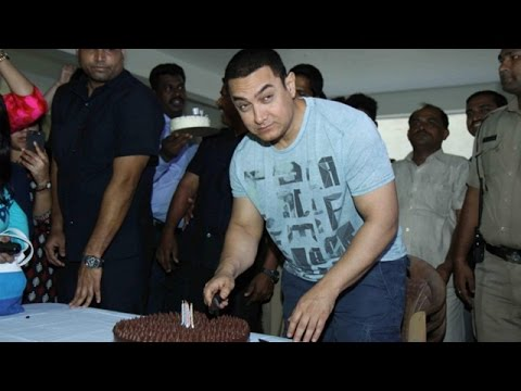 Aamir Khan Gets Emotional On His 50th Birthday- EXCLUSIVE