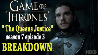 This is my predictions for -The Queens Justice: Game Of Thrones Season 7 Episode 3 preview that was shown at the end of...