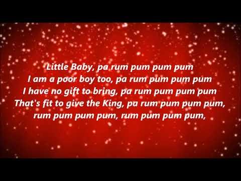 The Little Drummer Boy (Lyrics)