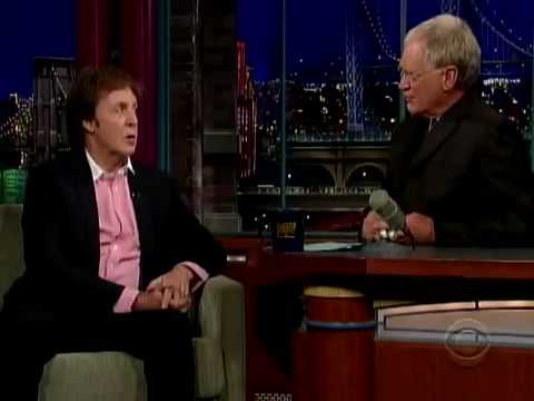 Video Paul McCartney on Letterman Beatles PART 1 of 3 download in MP3, 3GP, MP4, WEBM, AVI, FLV January 2017