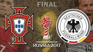 FIFA Confederations Cup Russia 2017 - FinalPortugal vs Germany2 July 2017 - 07.02.2017 - 02 de Julho de 2017Krestovsky Stadium, Saint Petersburg- - - - - - - - - - - - - - - - - - - - - - - - - - - - - - -• Quer uma loja segura para comprar tudo para o seu console com os melhores preços e com frete grátis para todo Brasil?Compre tudo isso e muito mais na Zilion Games: http://www.ziliongames.com.br/Na ZG você encontra todos os games do mercado para todos os consoles além de acessórios e consoles!ZILION GAMES, ONLY FOR GAMERS! : : 17 ANOS NO MERCADO!- - - - - - - - - - - - - - - - - - - - - - - - - - - - - - -• Siga o Omega nas Redes Sociais:→ Twitter: http://twitter.com/omegadosgames→ Facebook: http://www.facebook.com/omegadosgames→ Instagram: http://instagram.com/omegarafael