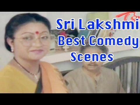 Comedian Sri Lakshmi Back To Back Best Comedy Scenes  02