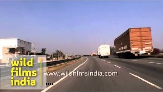 Behror India  City new picture : Kotputli to Neemrana freight corridor driving video : Rajasthan diary