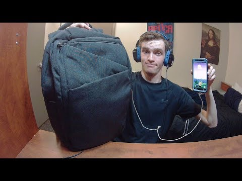 Tocode Water Resistant School/Work Travel Backpack With USB Charging Port Tocode-17010 Review