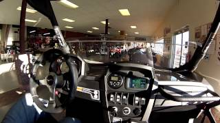 9. Canam Commander or Maverick sound system and GPS demo