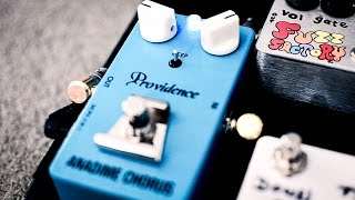 Providence pedals shootout