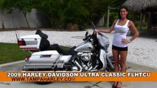 3. Used 2009 Harley-Davidson FLHTCU Ultra Classic Electra Glide Motorcycles  for Sale
