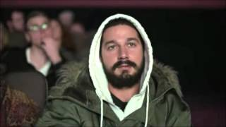 *Exclusive* Shia LaBeouf time lapse of #allmymovies live stream marathon - watch full