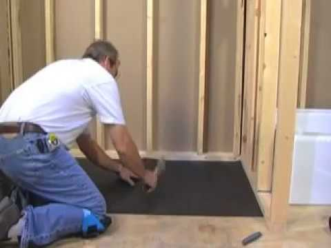 Installation - Learn how to make and tile your own shower pan.