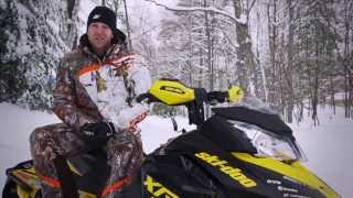 3. TEST RIDE: 2014 Ski-Doo MX Z X-RS