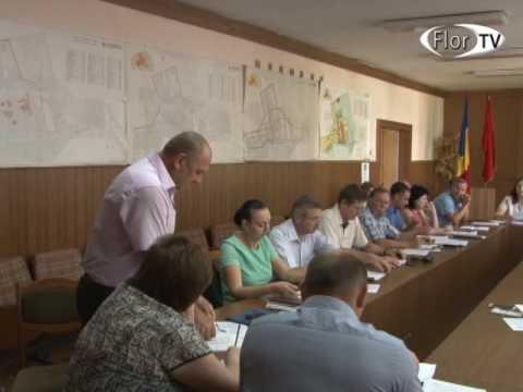 Ședința ordinară a Consiliului orașenesc Florești din 22 06 2017