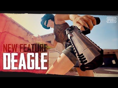 PUBG - New Feature - Deagle