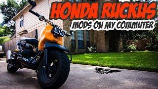 9. Honda Ruckus MODS for an everyday commuter ride.