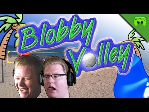 BLOBBY VOLLEY # 7 - Alte Playstation Spiele «» Let's Play Blobby Volley | HD