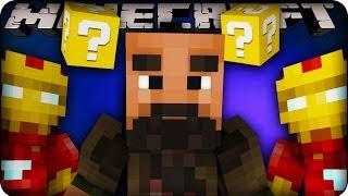 Minecraft - LUCKY BLOCK BOSS CHALLENGE - IRON MAN VILLAIN ! (Lucky Block Mod / Superhero Mod)
