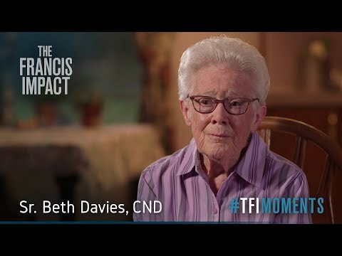 #TFImoments: For Sr. Beth Davies, Pope Francis models compassion through encounter