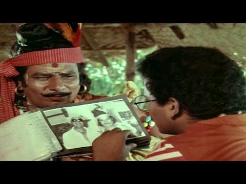 Ladies Tailor || Ralapalli Introduction Scene || Rajendra Prasad, Archana