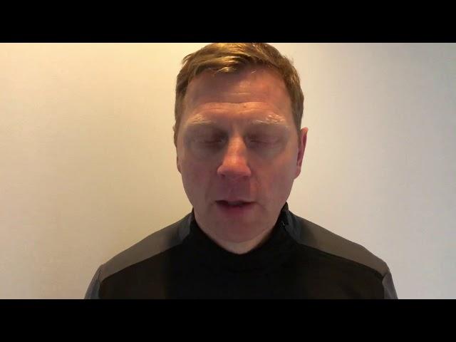 Brynjar Björn lagaði varnarleikinn í hálfleik
