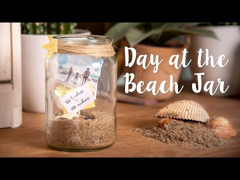 Upcycled Beach Jar - Sizzix