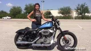 4. Used 2012 Harley Davidson 883 Nightster Motorcycles for sale in Tampa