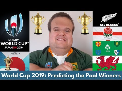 Rugby World Cup 2019: Predicting the Group Stage Winners