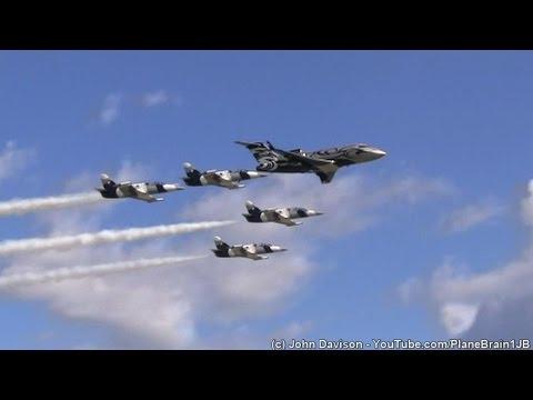 2014 Lehigh Valley Airshow – The Black Diamond Jet Team