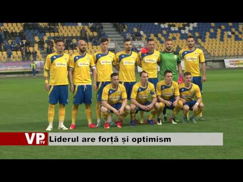 Liderul are forță și optimism