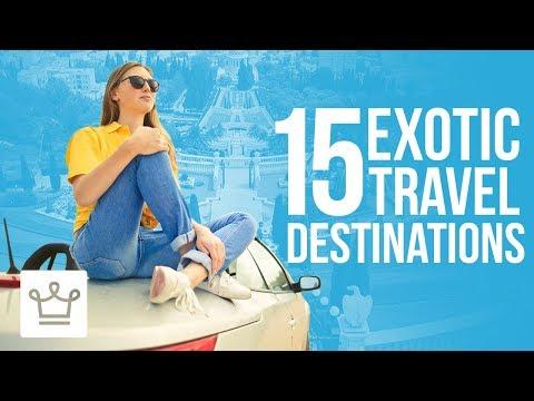 Egzotikus nyaralás? Íme a 15 legjobb úti cél!