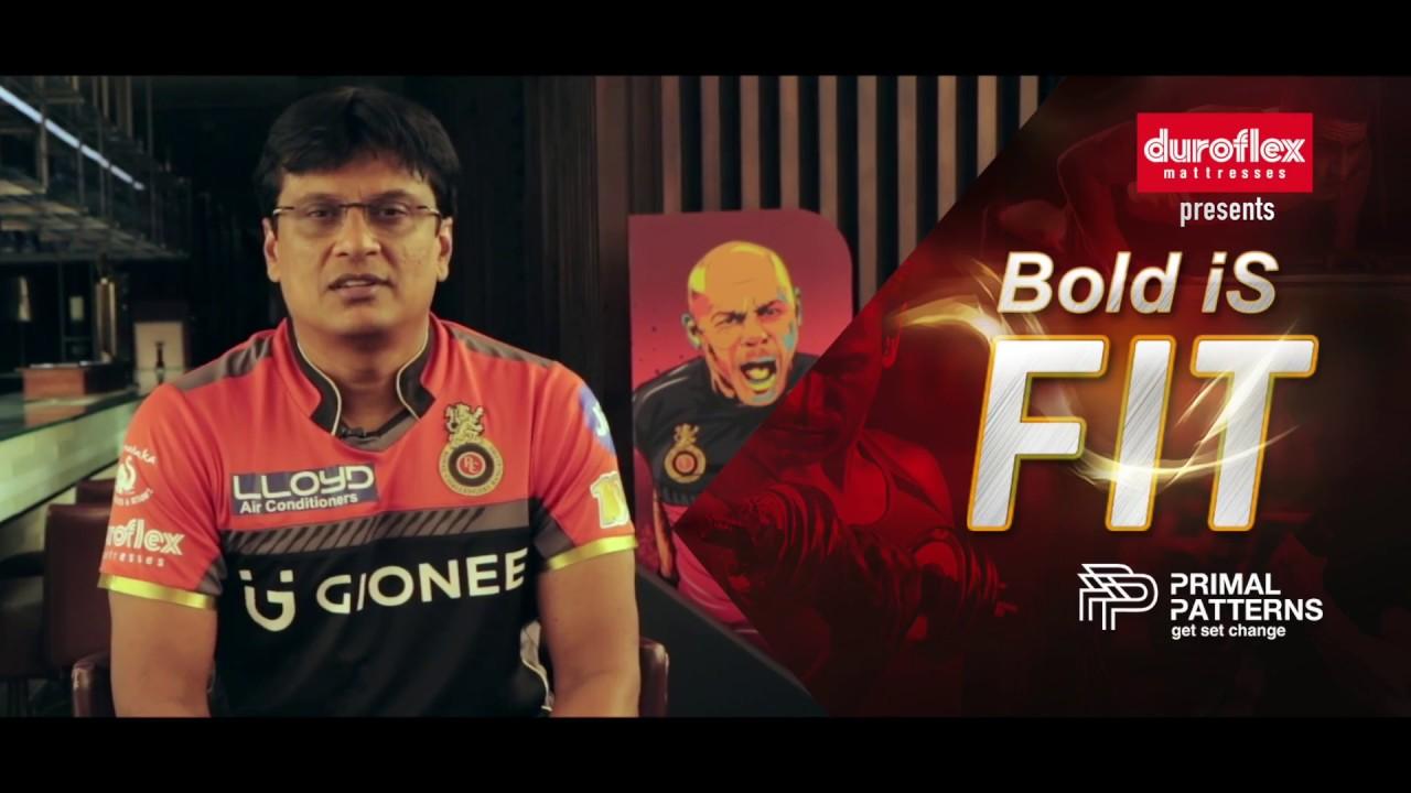Duroflex Bold Is Fit | Episode 1 ft Virat Kohli | VIVO IPL 2017