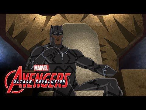 Marvel's Avengers: Ultron Revolution – Black Panther Featurette