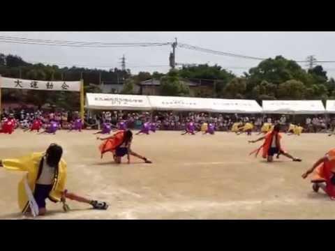 北九州子ども10000人ヨサコイ 貫小学校