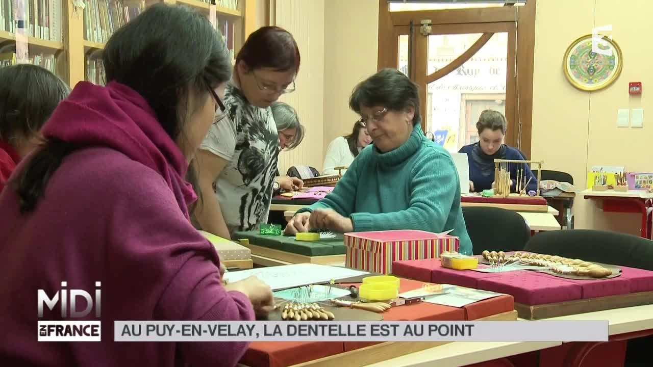 Made in France : la dentelle est au point - Midi en France