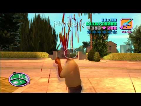 GTA Vice City - Headshot in Slow Motion! (Part 2)