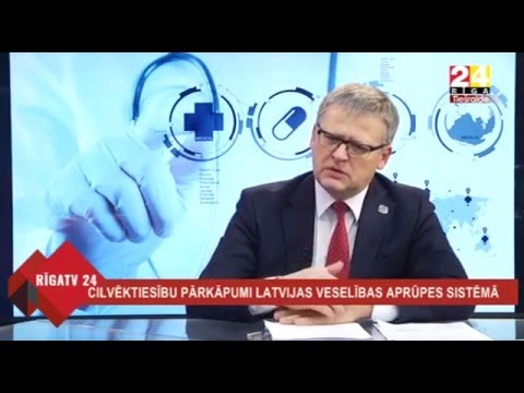 Veselības ministrs Dr. Guntis Belēvičs diskutē ar Tiesībsargu Juri Jansonu par Satversmē garantēto veselības aprūpes minimumu