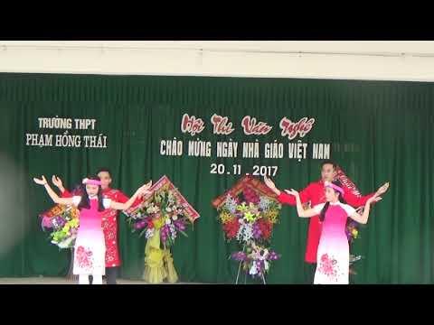 Tiết mục của lớp 11A1 - Trường THPT Phạm Hồng Thái - H.Nguyên