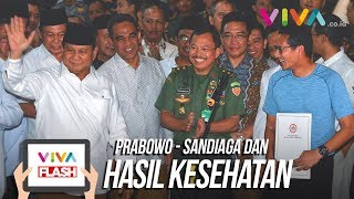 Video Kata Prabowo/Sandiaga Usai Terima Hasil Tes Kesehatan MP3, 3GP, MP4, WEBM, AVI, FLV September 2018