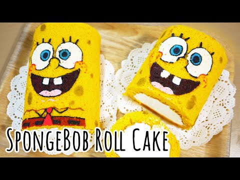 SpongeBob Roll Cake - Sweet The Mi