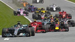 2018 Austrian Grand Prix: Race Highlights