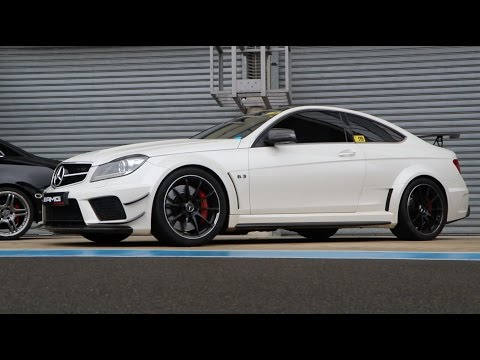 Mercedes Classe C C63 AMG EDITION KIT CARROSSERIE BLACK SERIES