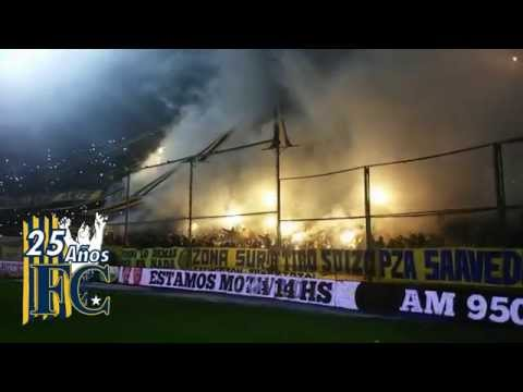 Video - Asi recibe su hinchada al glorioso Rosario Central (video sin editar) - Los Guerreros - Rosario Central - Argentina