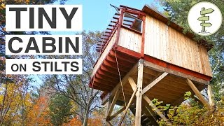 Nonton Beautiful Treehouse Style Cabins On Stilts   Full Tour Film Subtitle Indonesia Streaming Movie Download