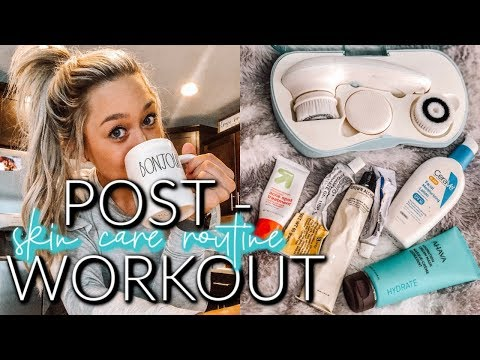 MORNING SKIN CARE ROUTINE | POST WORKOUT + ACNE TALK