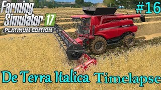 FS17 Timelapse, De Terra Italica #16: Harvesting Again!