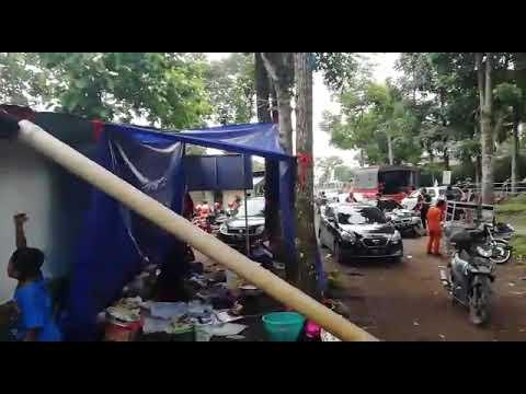 BASARNAS Di TRETES Jadi Relawan Pencarian  Hari Ke 7 Siswa SMKN Surabaya